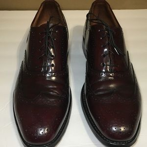 Austin Reed Cherry Brown Wing Tip Shoes size 11 N